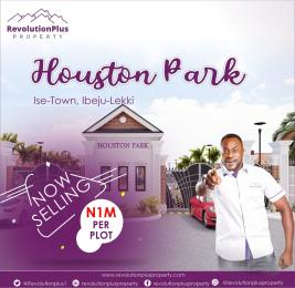 Residential Land for sale Houston Park, 5 Minutes From Lacampagne Tropicana Ise town Ibeju-Lekki Lagos