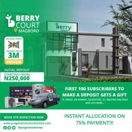 Residential Land for sale Berry Court, Beside Mountain Top University Magboro Obafemi Owode Ogun