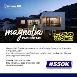 Residential Land for sale Magnolia Park Akodo Ise Ibeju-Lekki Lagos