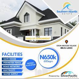 Residential Land Land for sale Southern Atlantic Estate Akodo Ise Ibeju-Lekki Lagos