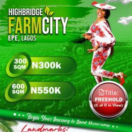 Industrial Land for sale Highbridge Farmcity Epe Road Epe Lagos