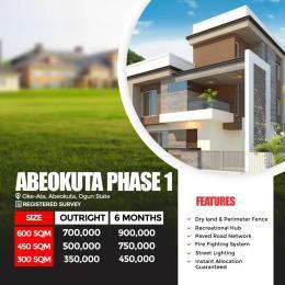 Residential Land Land for sale Oke ata,Abeokuta, ogun state Abeokuta Ogun