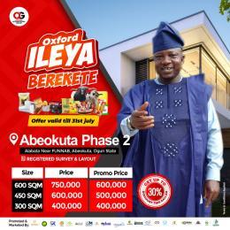 Residential Land Land for sale Alabata near funnab Alabata Abeokuta Ogun