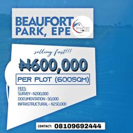 Residential Land Land for sale Yewa Road Epe Lagos