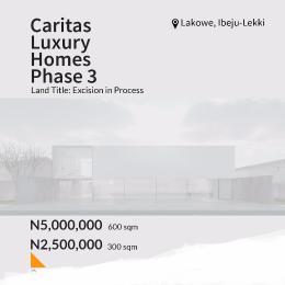 Residential Land Land for sale Caritas luxury home estate phase 3 Lakowe  Lakowe Ajah Lagos