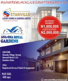Residential Land Land for sale Anaoma Royal Gardens Estate Umuoji Idemili Anambra Idemili North Anambra