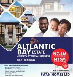 Residential Land Land for sale behind altlatic bar estate Eko Atlantic Victoria Island Lagos
