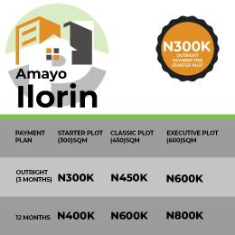 Serviced Residential Land Land for sale Amoyo Ilorin Kwara state Ilorin Kwara
