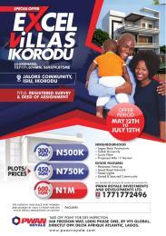 Residential Land Land for sale behind jaloke community. Ipakodo Ikorodu Lagos
