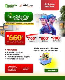 Mixed   Use Land Land for sale Sunshine City Estate Abara Ipo Close to Airport by City Centre  Oyigbo Rivers