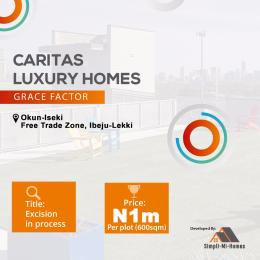 Residential Land Land for sale Okun ísekí Free Trade Zone Ibeju-Lekki Lagos