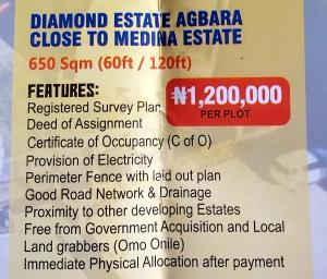 Mixed   Use Land Land for sale Diamond estate Agbara close to medina estate  Agbara Agbara-Igbesa Ogun