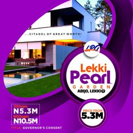 Serviced Residential Land Land for sale Abijo, sharing fence with Amity Estate,  along Bogije Lekki_Epe expressway after Ajah Abijo Ajah Lagos