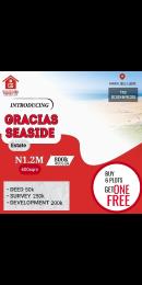 Serviced Residential Land Land for sale Gracias Seaside Akpakin Ibeju Lekki  Ibeju-Lekki Lagos