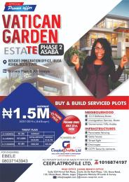 Serviced Residential Land Land for sale Vatican Garden estateSsaba,beside immigration office ibusa, Asana,delta state Asaba Delta