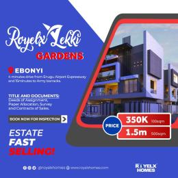 Residential Land Land for sale Royelx lekki gardens 4minutes drive from Enugu airport expressway and 15minutes to army barracks Ebonyi  Ebonyi Ebonyi