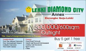 Mixed   Use Land Land for sale Eleranigbe,15 minutes drive from lekki - epe express way,lagos Eleranigbe Ibeju-Lekki Lagos