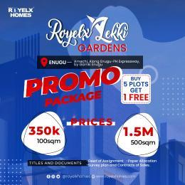 Residential Land Land for sale Royelx Lekki Gardens In Amechi Along Enugu Ph Expressway By Garriki Enugu Enugu Enugu