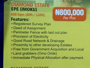 Mixed   Use Land Land for sale Epe,lagos state Epe Road Epe Lagos