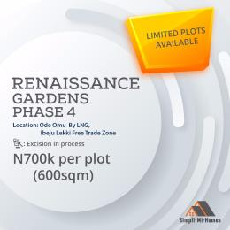 Residential Land Land for sale Ode Omu by LNG, Ibeju Lekki Free Trade Zone  Free Trade Zone Ibeju-Lekki Lagos