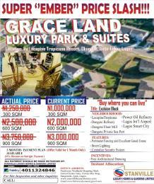 Land for sale Okun Ise Village, Ibeju Lekki LaCampaigne Tropicana Ibeju-Lekki Lagos