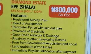 Mixed   Use Land Land for sale Epe,lagos  Epe Road Epe Lagos