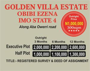 Residential Land Land for sale Along Aba Owerri Road  Owerri Imo