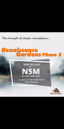 Serviced Residential Land Land for sale Along Dangote Refinery Road  Free Trade Zone Ibeju-Lekki Lagos