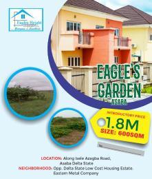 Residential Land Land for sale Eagles Garden Estate Along Isle Azagba Road Asaba Delta Asaba Delta