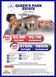 Residential Land Land for sale Queens park estate kuje Abuja  F. C. T Kuje Abuja