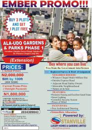 Land for sale BY WINNERS CHAPEL CAMP GROUND, OGBAKU Mbaitoli Imo