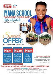 Residential Land Land for sale Iyana School, Oke Moro Community, Iba Lagos (DOC GARDENS) Iba Ojo Lagos