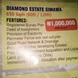 Serviced Residential Land Land for sale Diamond Estate Shimawa  Ifo Ifo Ogun