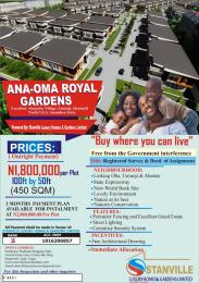 Mixed   Use Land Land for sale ANAOMA ROYAL GARDENS UMUOJI ANAMBRA Idemili south Anambra