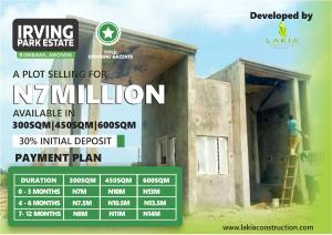 Mixed   Use Land for sale Irving Park Estate Oribawa Awoyaya Ajah Lagos