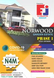 Mixed   Use Land Land for sale Close to Amen phase 2 Eleko Ibeju-Lekki Lagos