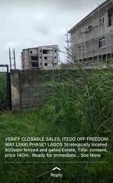 Mixed   Use Land Land for sale Itedo off freedom way Lekki phase1  Lekki Phase 1 Lekki Lagos