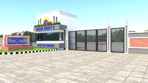 Serviced Residential Land for sale White Gate Estate Along Orchid Hotel Road 5 Munite Drive From The Express Osapa london Lekki Lagos