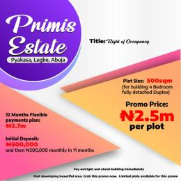 Mixed   Use Land Land for sale Pyakasa Estate  Lugbe Abuja