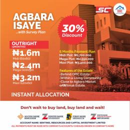 Residential Land Land for sale Agbara Isaye  Badagry Lagos