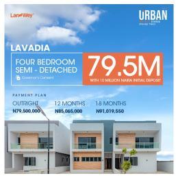 4 bedroom Semi Detached Duplex for sale Urban Prime Estate Abraham adesanya estate Ajah Lagos