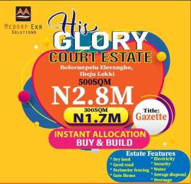 Mixed   Use Land Land for sale Bolorunpelu, Elerangbe, Ibeju-Lekki, Lagos Eleranigbe Ibeju-Lekki Lagos