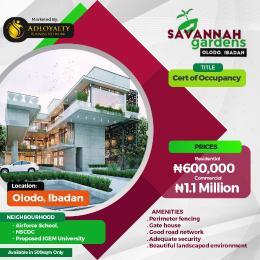 Commercial Land for sale Olodo Ibadan Oyo Oyo