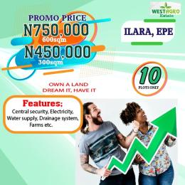 Residential Land Land for sale West Agro Estate, Ilara Epe Epe Road Epe Lagos