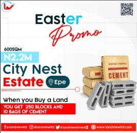 Residential Land for sale City Nest Estate, Poka, Epe Epe Lagos