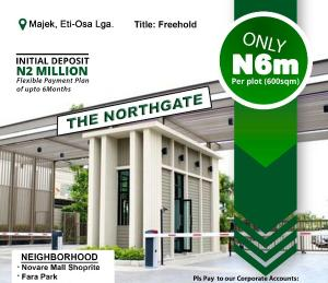 Residential Land Land for sale Northgate Estate, Opposite Fara Park Majek Sangotedo Lagos