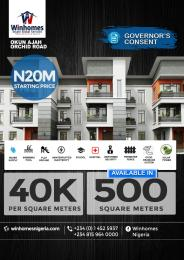 Residential Land Land for sale Orchid Road, Lafiaji Ikota Lekki Lagos