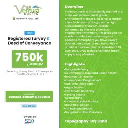 Residential Land for sale Ventura Courts, Ode Omi, 10 Minutes From Lacampagne Tropicana LaCampaigne Tropicana Ibeju-Lekki Lagos