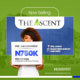 Residential Land for sale The Ascent, Igbonla Epe Epe Lagos