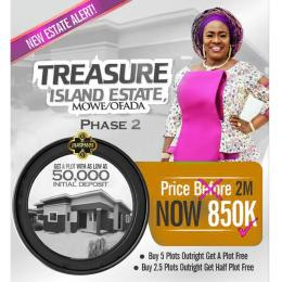 Residential Land for sale Treasure Island Estate, Mowe Ofada, Close To Nestle Foods Ofada Obafemi Owode Ogun